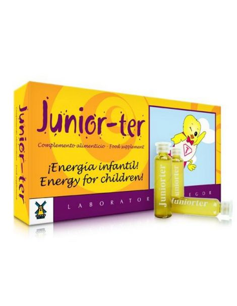 Juniorter Tegor - 20 viales
