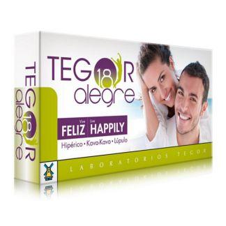 Tegor 18 Alegre Tegor - 40 cápsulas