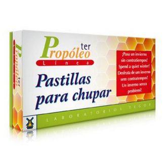 Propoleoter Pastillas para Chupar Tegor - 30 pastillas