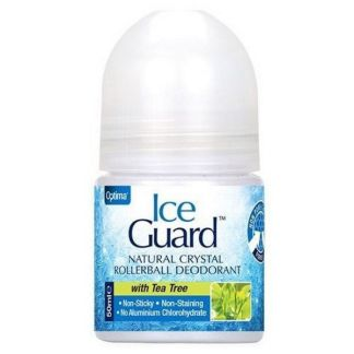 Desodorante Ice Guard Roll-on con Árbol del Té Optima - 50 ml.