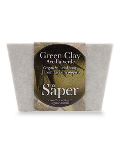 Jabón Facial de Arcilla Verde Green Clay Saper - 115 gramos