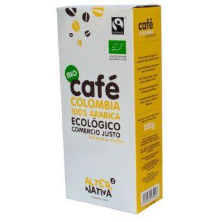 Café Molido Arábica Colombia Bio Alternativa3 - 250 gramos