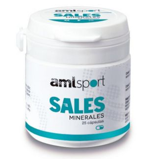 Sales Minerales AML Sport Ana Mª. Lajusticia - 25 cápsulas