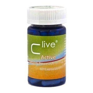 C Live Calostro Active Universo Natural - 60 cápsulas