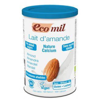 Bebida de Almendra Nature con Calcio Bio Ecomil - 400 gramos