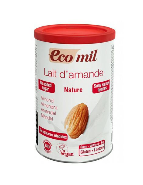 Bebida de Almendra Nature Bio Ecomil - 400 gramos