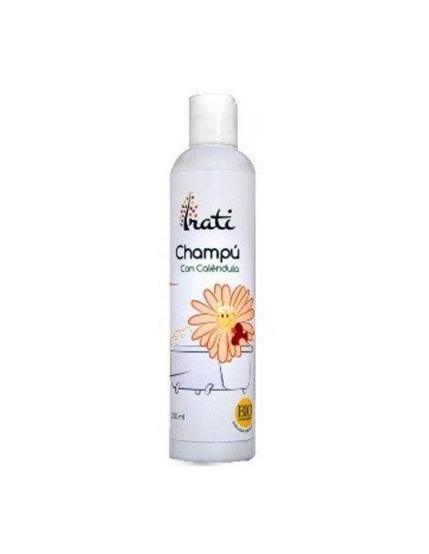 Champú con Caléndula Especial Niños Irati Organic - 250 ml.
