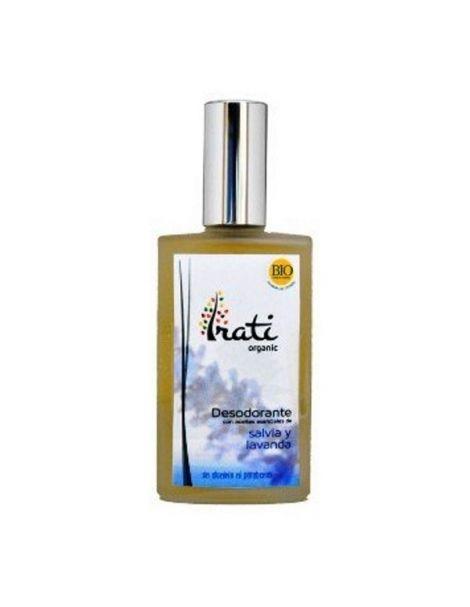 Desodorante en Spray Salvia y Lavanda Irati Organic - 100 ml.
