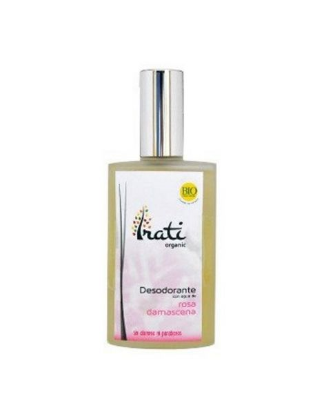 Desodorante en Spray Rosa Damascena Irati Organic - 100 ml.