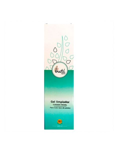 Gel Limpiador Facial Irati Organic - 200 ml.