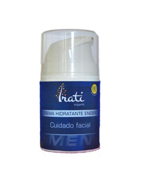 Crema Hidratante con Enebro para Hombre Irati Organic - 50 ml.