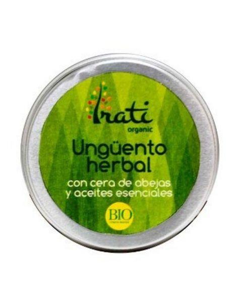 Ungüento Herbal Irati Organic - 50 ml.