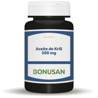 Aceite de Krill 500 mg. Bonusan - 60 perlas