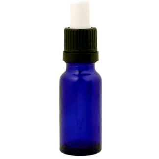 Frasco Cuentagotas Vidrio Azul Cobalto - 15 ml.
