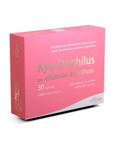 Kyo.Dophilus con Enzimas Digestivas Vitae - 30 cápsulas