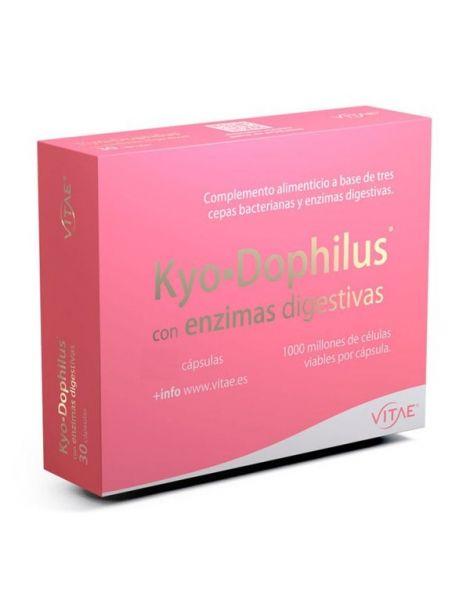 Kyo.Dophilus con Enzimas Digestivas Vitae - 15 cápsulas