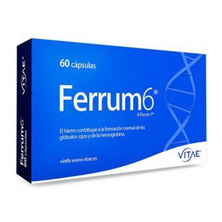 Ferrum6 Vitae - 60 cápsulas