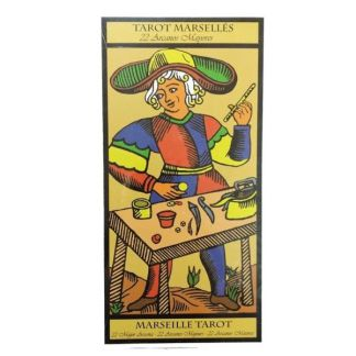 Tarot Marsellés 22 Arcanos Mayores (Cartas Tamaño Grande)