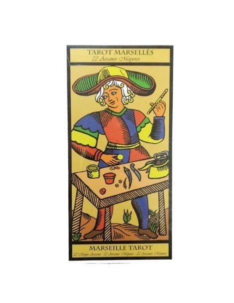 Tarot Marsellés 22 Arcanos Mayores (Cartas Tamaño Grande)