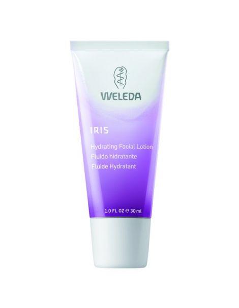 Fluido Hidratante de Iris Weleda - 30 ml.