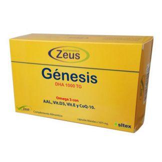 Génesis DHA 1000 TG Zeus - 30 perlas