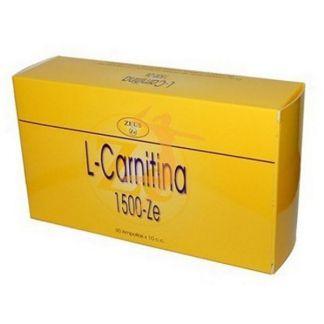 L-Carnitina 1500-Ze Zeus -30 ampollas
