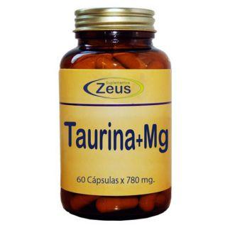 Taurina con Magnesio Zeus - 60 cápsulas