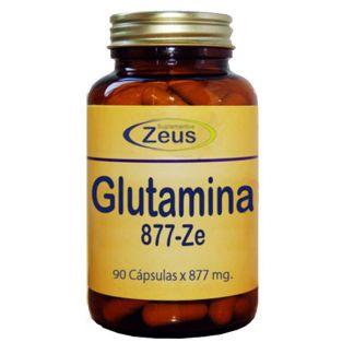L-Glutamina 877-Ze Zeus -90 cápsulas