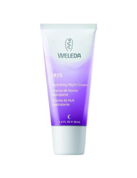 Crema de Noche Hidratante de Iris Weleda - 30 ml.