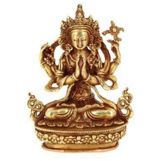 Estatua Tibetana Chenrezig Compasión