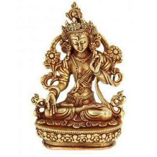 Estatua Tibetana Tara Blanca Salud y Longevidad