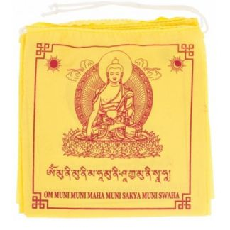 Banderas de Oración Buda Sakyamuni