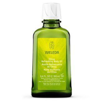 Aceite Corporal Hidratante de Citrus Weleda - 100 ml.