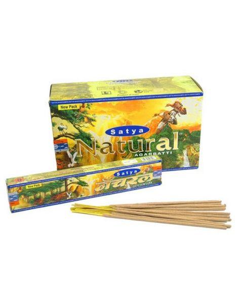 Incienso Natural Satya - 15 gramos