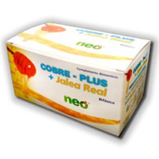 Cobre Plus + Jalea Real Neo - 15 viales
