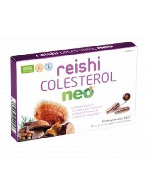 Reishi Colesterol Microgránulos Neo - 30 cápsulas