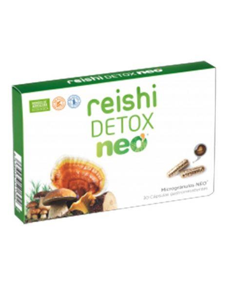 Reishi Detox Microgránulos Neo - 30 cápsulas