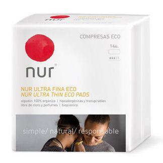 Compresa Ultrafina Nur - 14 unidades