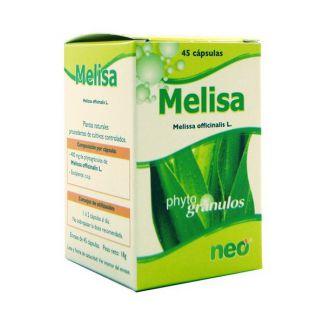 Melisa Microgránulos Neo - 45 cápsulas