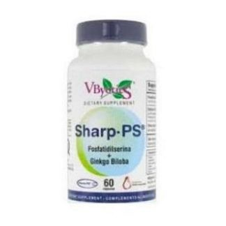Sharp PS - Ginkgo VByotics - 60 cápsulas