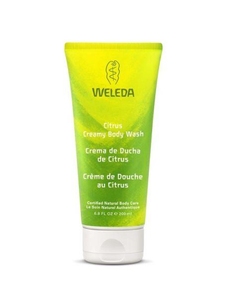 Crema de Ducha de Citrus Weleda - 200 ml.