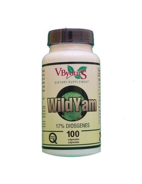 Wild Yam VByotics - 100 cápsulas