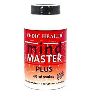 Mind Master Plus Vedic Health - 60 cápsulas