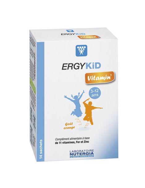 ErgyKid Vitamin Nutergia - 14 sobres