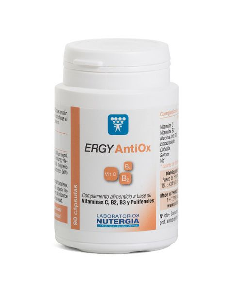 Ergy Antiox Nutergia - 90 cápsulas