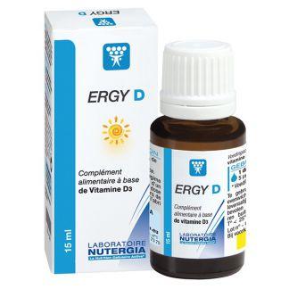 Ergy D Nutergia - 15 ml.