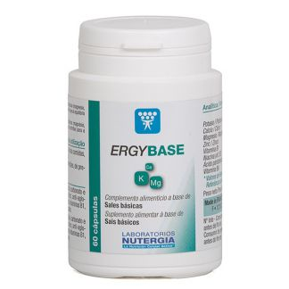 Ergybase Nutergia - 60 cápsulas