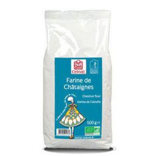 Harina de Castañas Bio Celnat - 500 gramos