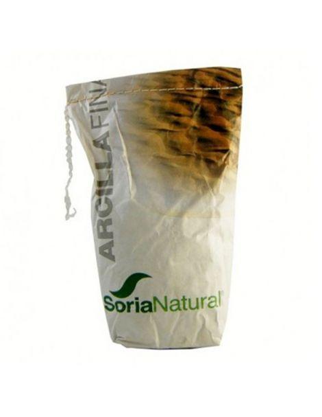 Arcilla Roja Fina Soria Natural - 1000 gramos