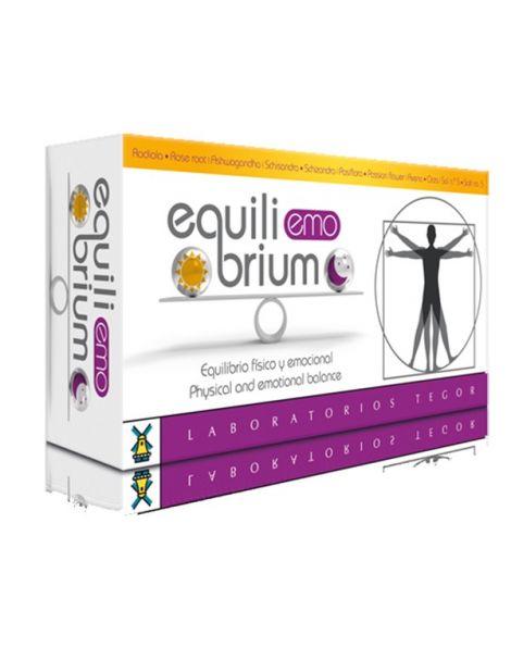 Equilibrium Emo Tegor - 60 cápsulas